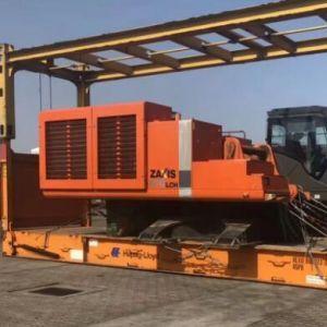 二手工程设备进口海运-中检-清关送货一站式门到门