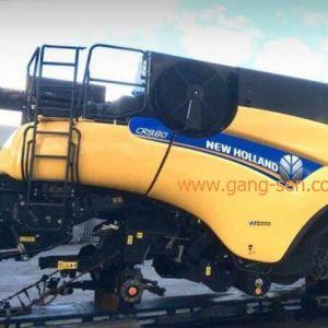 纽荷兰New Holland CR 980二手收割机德国到国内天津港口国际物流服务