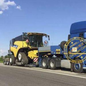 纽荷兰二手收割机从波兰进口中国大连手续流程案例展示
