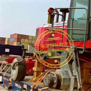美国二手麦克唐割晒机进口天津港口物流门到门