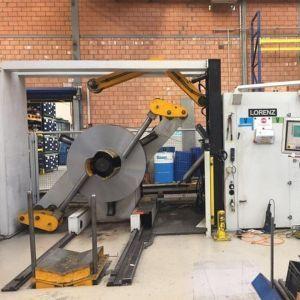 LORENZ二手钢卷矫直机和开卷机进口中国的关税多少