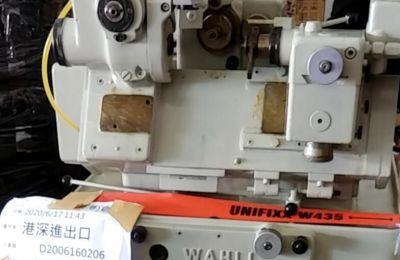 瑞士二手(wahli)W90滚齿机瓦里进口物流到深圳案例
