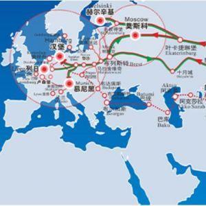 欧洲铁路进出口手续一站式服务直达比海运节省20天的时间
